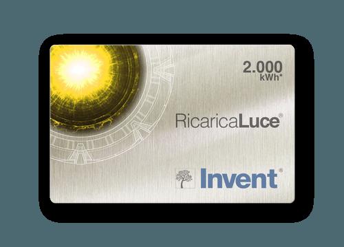 Card RicaricaLuce Cose di Casa