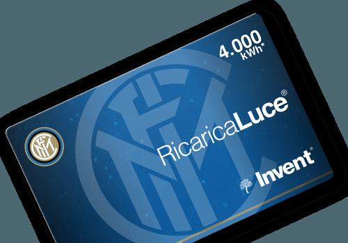 Card RicaricaLuce Inter