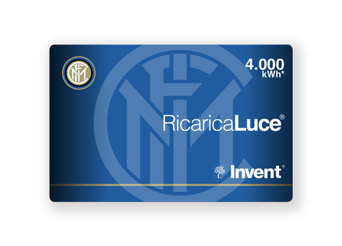 Card RicaricaLuce Inter