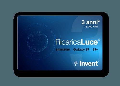 Card RicaricaLuce Samsung S9