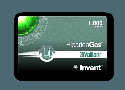 Card RicaricaGas Vaillant