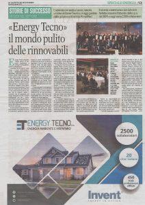 Energy Tecno - Gazzetta del Mezzogiorno