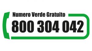 Numero Verde 800 304 042