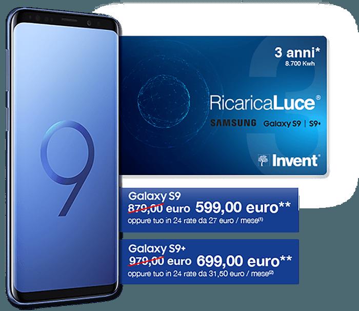 RicaricaLuce Samsung S9